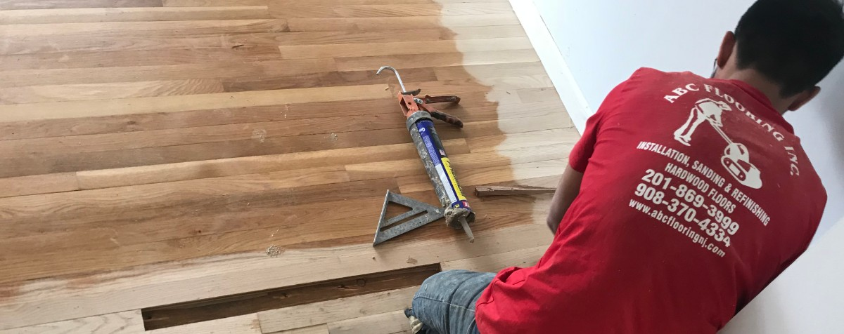 Wood Floor Repair Union County, NJ - image