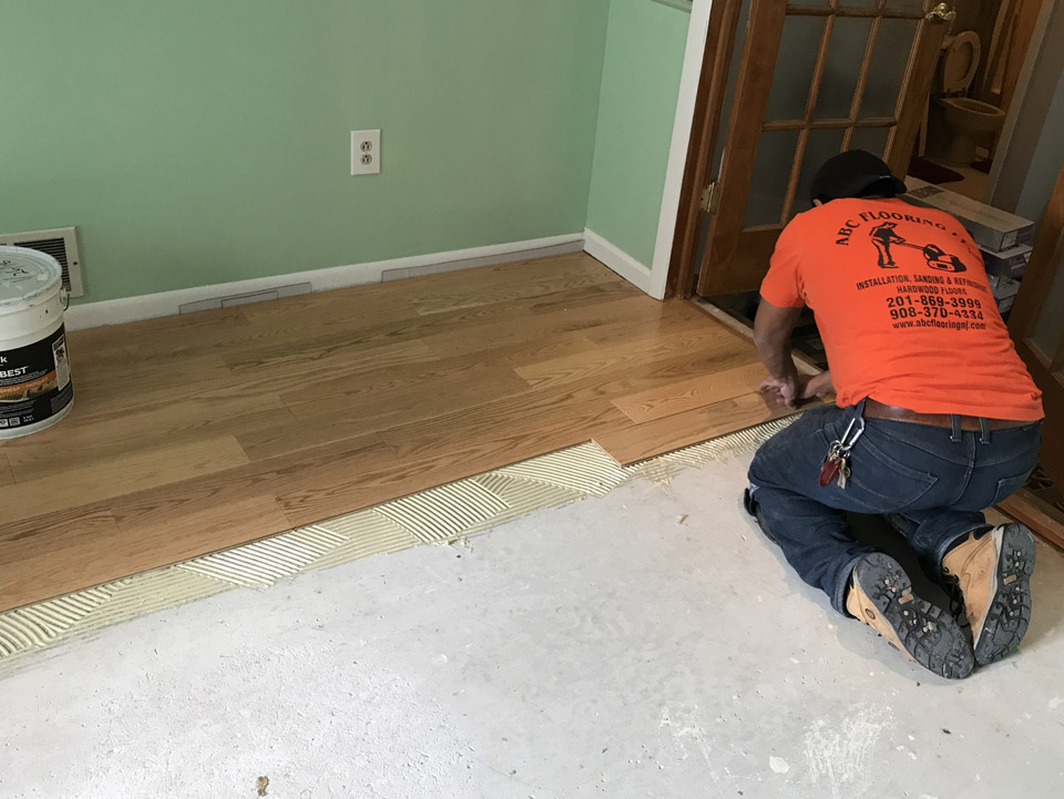 Nj Wood Floor Installation Gallery
