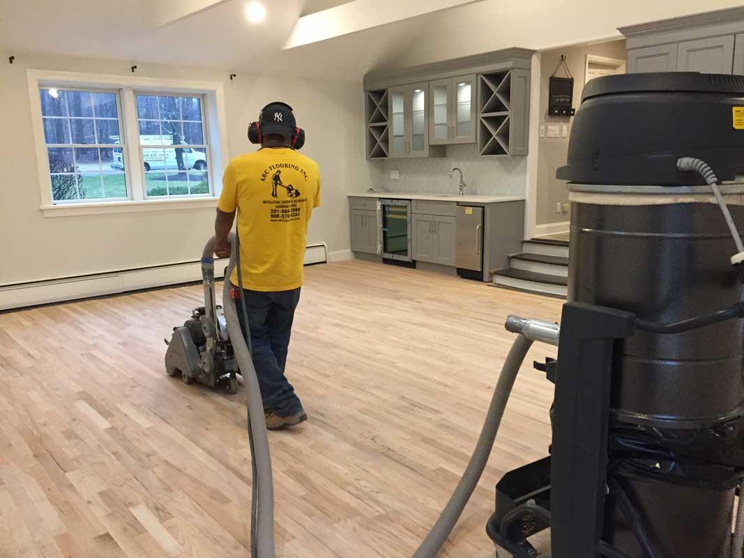 Dustless Wood Floor Sanding Nj Abc Flooring Nj Since 1995