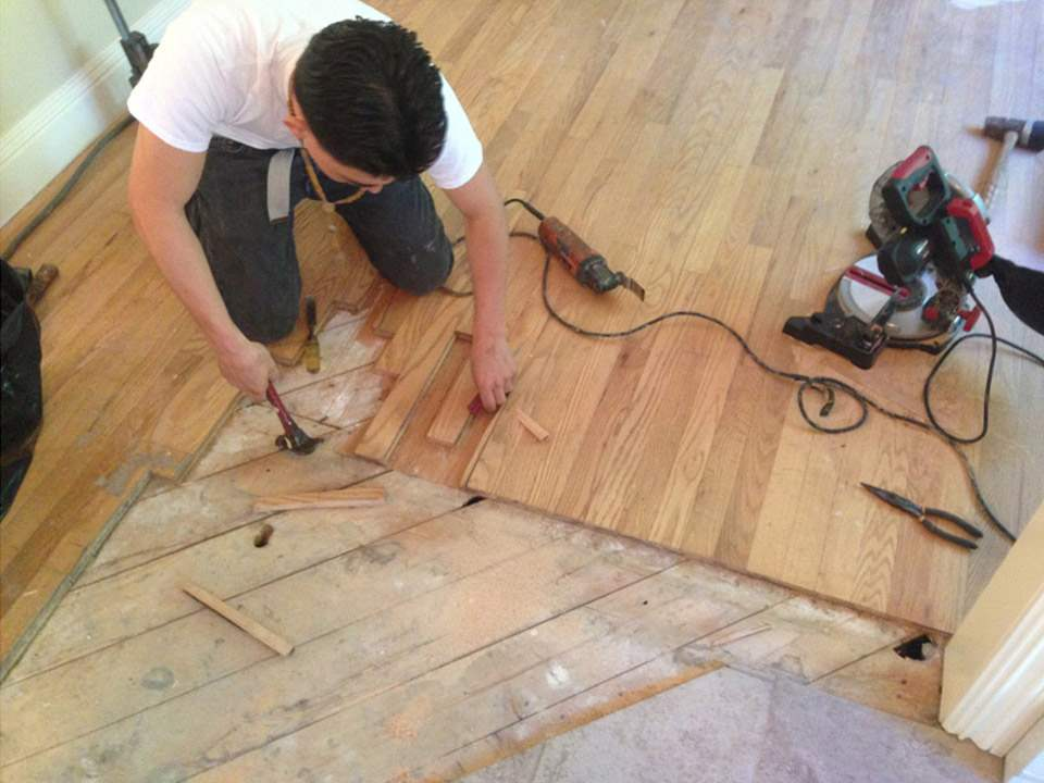 wood repair sanding repairs water palmetto hardwood services damaged floor